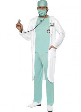 Disfraz de Médico Cirujano para Hombre