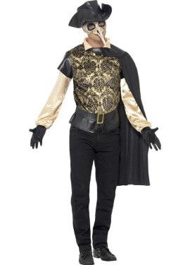 Disfraz de Médico de Época para hombre