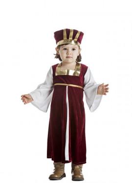 Disfraz de Medieval para niña y bebé