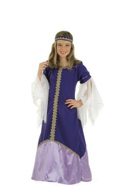 Déguisement Princesse Médiévale Recina pour enfants
