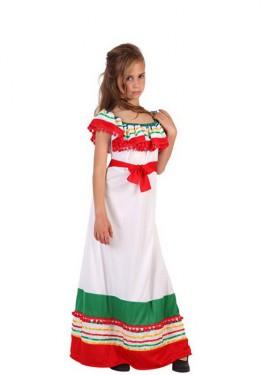 Disfraz de Mexicana para niñas