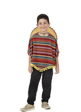 Disfraz de Mejicano Anam para niño