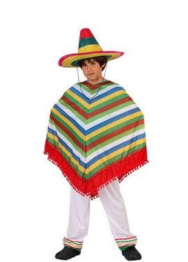 Disfraz de Mexicano para niños