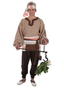 Disfraz de Mercader Medieval para hombre