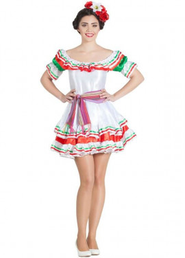 adc599d2af Disfraz de Mexicana para mujer