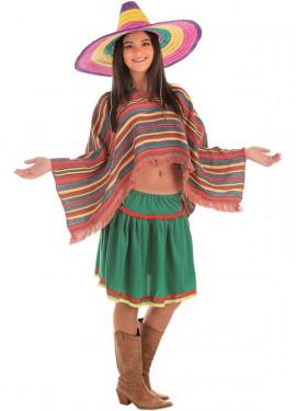 Disfraz de Mexicana para mujer