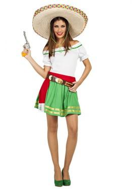 Disfraz de Mexicana Tequila para mujer