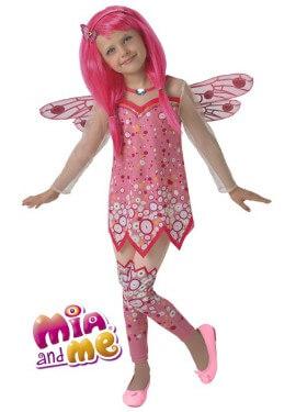 Disfraz de Mia Deluxe de Mia y Yo para niña