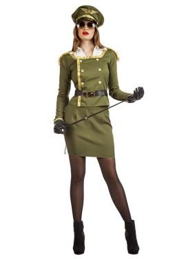 Disfraz de Militar Coronel para mujer