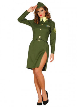 Disfraz de Militar de alto Mando para mujer