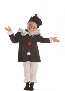 Disfraz de Mimo París para niño