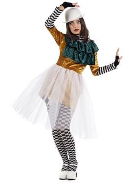 Disfraz de Mimo Polimnia para mujer