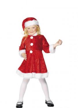 Disfraz de Mini Mamá Noel para niña