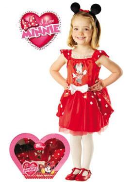 Disfraz de Minnie Mouse Bailarina en caja para niña
