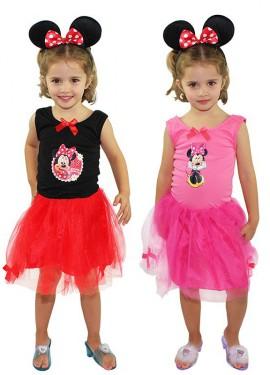 Disfraz de Minnie para niña en 2 modelos
