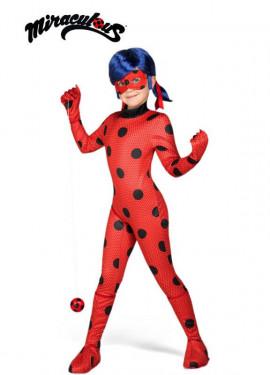 Disfraz de Miraculous Ladybug con peluca para niña