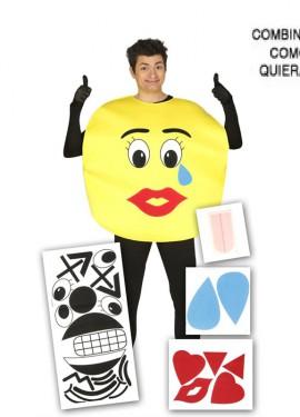 Disfraz de Mix Caras o Emoticono para adulto