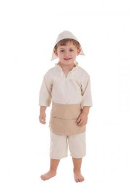 Disfraz de Molinero para bebé