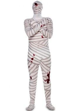 Disfraz de Momia con sangre para hombre