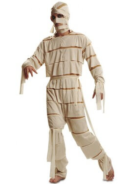 Disfraz de Momia para Hombre talla M-L para Halloween