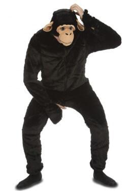 Disfraz de Mono Chimpancé para hombre