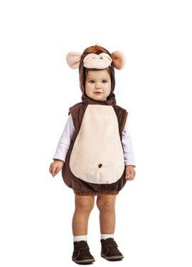 Disfraz de Mono Peluche para bebé