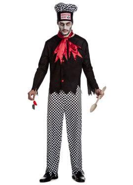 Disfraz de Monster Chef para hombre