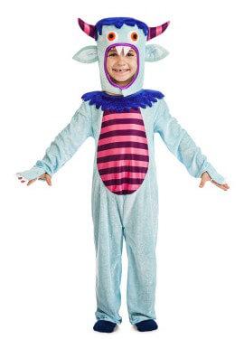 Disfraz de Monstruito Azul para niños