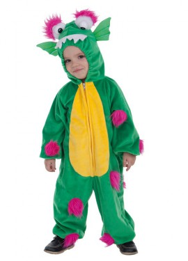 Disfraz de Monstruito Verde para niño