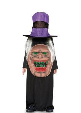 Disfraz de Monstruo con sombrero para niño