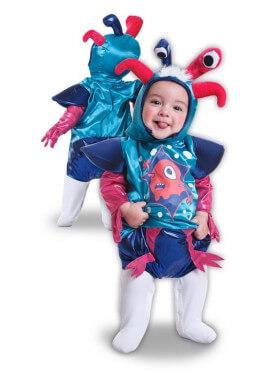 Disfraz de Monstruo Divertido para bebé