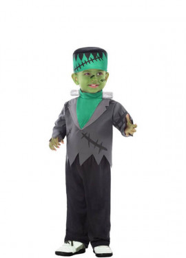 Disfraz de Monstruo Franky para niño y bebé