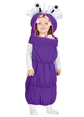 Disfraz de Monstruo Gusano para bebé