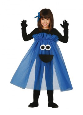 Disfraz de Monstruo tutú azul