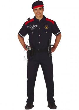 Disfraz de Mosso d'Esquadra para hombre