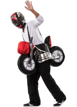 Disfraz de Moto para adultos