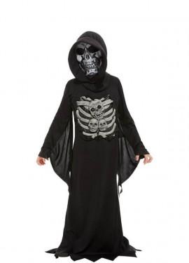 Disfraz de Muerte Esqueleto para niños