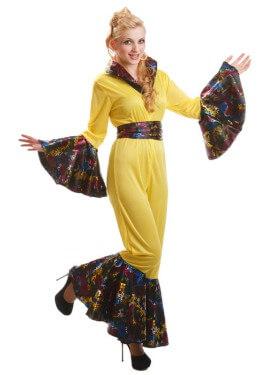 Disfraz de Mujer de los Años 80 Dancing para mujeres