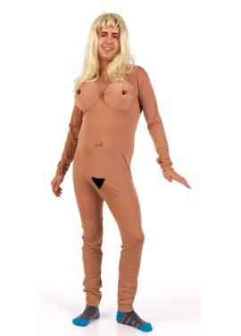 Disfraz de mujer desnuda para hombre