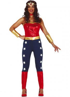 Disfraz de Mujer Maravilla para mujer
