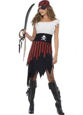 Disfraz de Mujer Pirata Bucanera