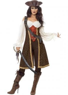Disfraz de Mujer Pirata de Alta Mar