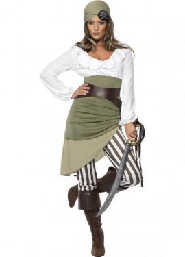 Disfraz de Mujer Pirata Encantadora