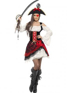 Disfraz de Mujer Pirata Glamurosa