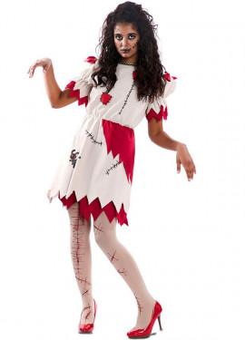 Disfraz de Muñeca de Trapo para mujer