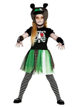 Disfraz de Muñeca del Terror para niña