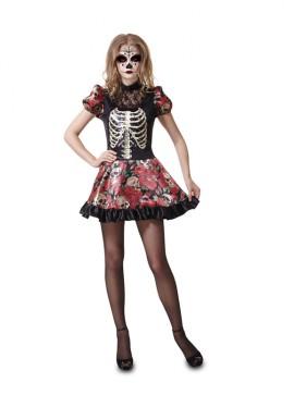 Déguisement Mexicaine Dia de los Muertos pour femmes pour Halloween