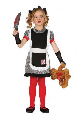 Disfraz de Muñeca Diabólica para niñas