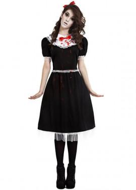 Disfraz de Muñeca Gótica para mujer