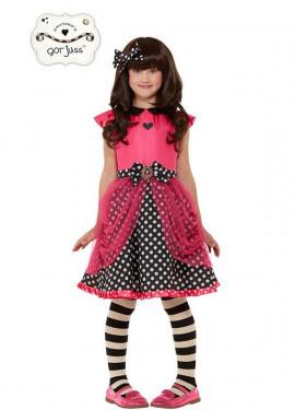 Costume da Bambola Ladybird Gorjuss Santoro per bambina